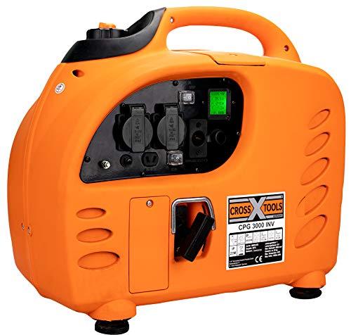 Cross Tools 68038Inverter Generadores de corriente Generador CPG 3000INV-72,8kW