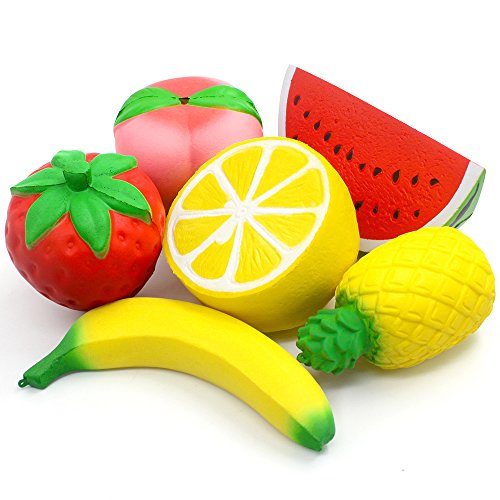 17 best squishies jumbo slow rising peach banana strawberry charms kawaii for 2020