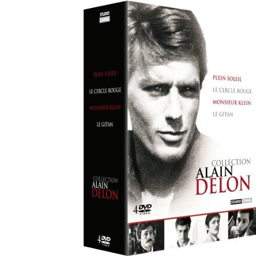 Alain delon : le cercle rouge ; plein soleil ; monsieur klein ; le gitan [FR Import]