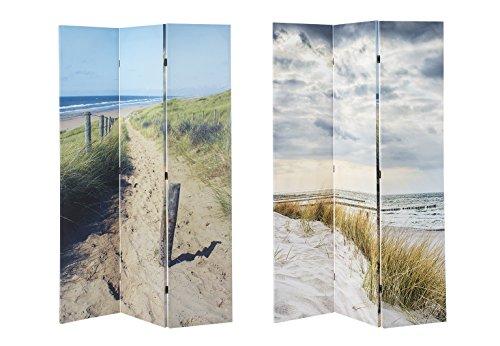 Kobolo Paravent Raumteiler Sichtschutz Dekowand Spanische Wand Fotoparavent Bedruckt