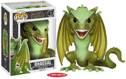 POP! Vinilo - Game of Thrones: 6\ Rhaegal