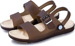 Ankle Strap Sandals Men's Strap Hiking Sandals Summer Men Open Toe Non Slip Fisherman Beach Shoes