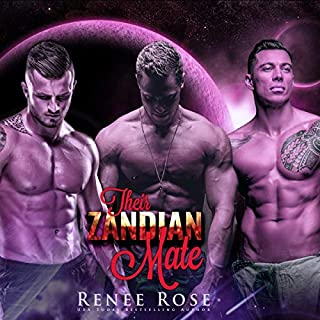Their Zandian Mate     An Alien Warrior Reverse Harem Romance (Zandian Brides, Book 1)              By:                                                                                                                                 Renee Rose                               Narrated by:                                                                                                                                 Jiraiya Addams                      Length: 2 hrs and 8 mins     49 ratings     Overall 4.3