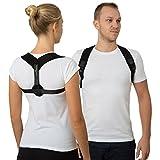 Geradehalter zur Haltungskorrektur für Frauen und Männer Haltungstrainer zur Unterstützung für den oberen Rücken gegen Nacken Schulterschmerzen Rückenbandage für Perfekte Haltung Rückenstabilisator -