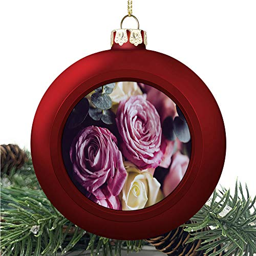 SUPNON Bouquet of and | Christmas Ball Ornaments 2020 Christmas Pendant Personalized Creative Christmas Decorative Hanging Ornaments Christmas Tree Ornament №SW69119
