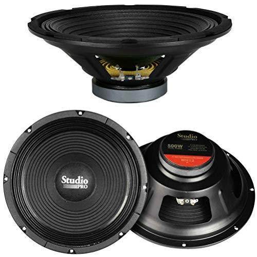 PYRAMID WH12 altoparlante diffusore woofer 30,00 cm 300 mm 12' 250 watt rms 500 watt max impedenza 8 ohm casa feste disco party karaoke, 1 pezzo
