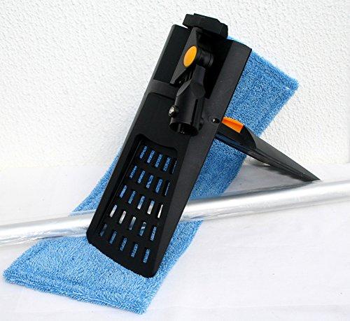 Starter Set di pulizia Set pulizia pavimento mocio lavapavimenti in microfibra 50cm
