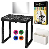 Magicfly Locker Shelf Organizer Kit, Adjustable Height and Width, Stackable Locker Tools Accessories with Pencil Holder,...