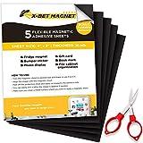 Hojas Magnéticas con Imanes Adhesivos - 5 UDS cada una 10 cm x 15 cm...