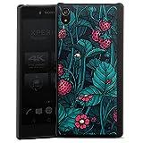 DeinDesign Coque Compatible avec Sony Xperia Z5 Premium Étui Housse Fraise Fleurs Nature