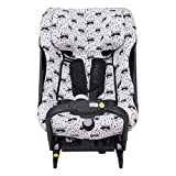 JANABEBE Funda para silla de coche Axkid One (Raccoon)