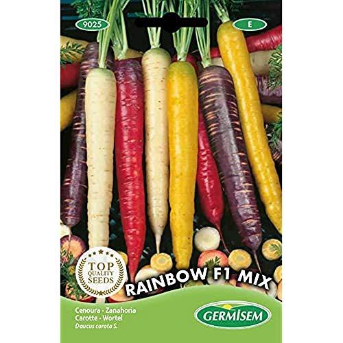 Germisem Rainbow F1 Mix Semillas de Zanahoria 1 g, EC9025