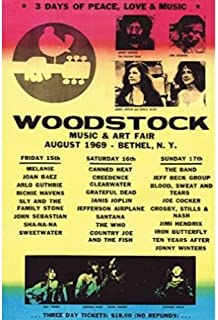 original vintage rock concert posters