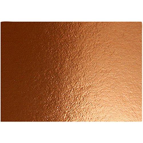 Metallfolienkarton A4 21x30cm 280g Kupfer 10Blatt