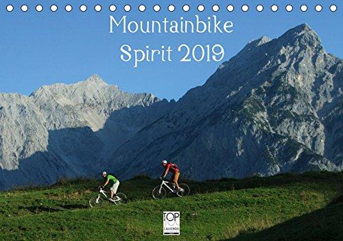 Mountainbike Spirit 2019 (Tischkalender 2019 DIN A5 quer): 13 faszinierende Radsportmotive in den Alpen (Monatskalender, 14 Seiten )