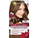 Garnier Hair Color Sensation Rich Long-Lasting Color Cream, 6.0 Light Natural Brown