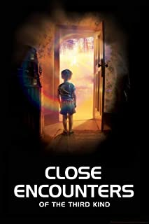 Close Encounters of The Third Kind Boy in Doorway Movie Cool Huge Large Giant Poster Art 36x54