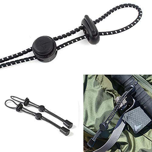 ink2055 Camping Replacement Walking Stick Cane Holder Wrist Strap Elastic Rope Grip Aid
