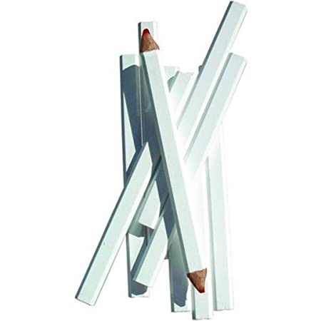 Bon Tool 84 843 Pencil White Casing Medium Red Lead 72 Pkg Multi Function Power Tools Amazon Com