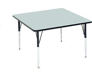 Correll Square Top Activity Table, Gray Granite