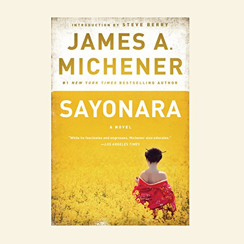 Sayonara audiobook cover art