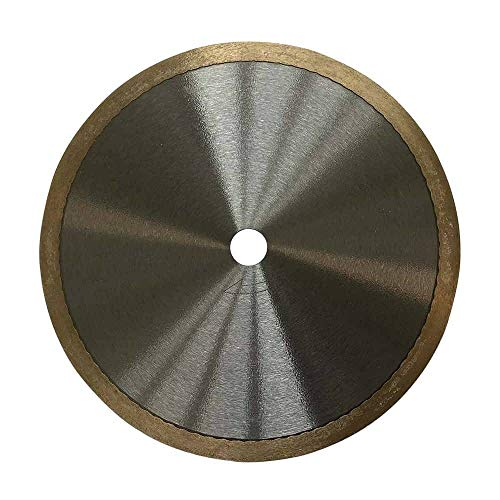 """7"""" Diamond Saw Blade for Glass Mosaic Tile - Dedicated Glass Cutting Formula with Minimized Risk of Chipping"""