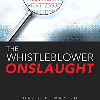 The Whistleblower Onslaught audiobook cover art