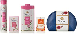 Yardley London English Rose Range Gift Pack, 518 ml (Pack of 4)