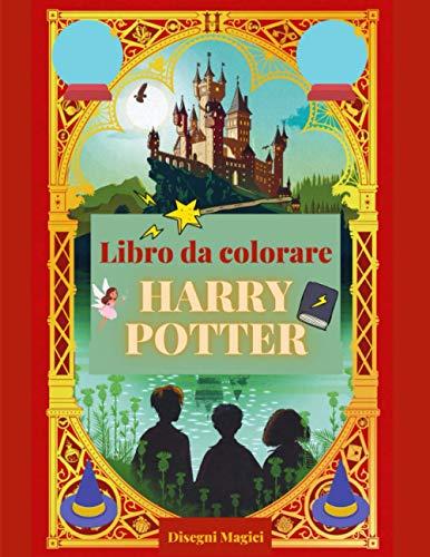 Harry potter: Libro da colorare con 120 immagini da colorare.