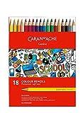 Caran d'Ache School Permanent Farbstifte 18 Stifte
