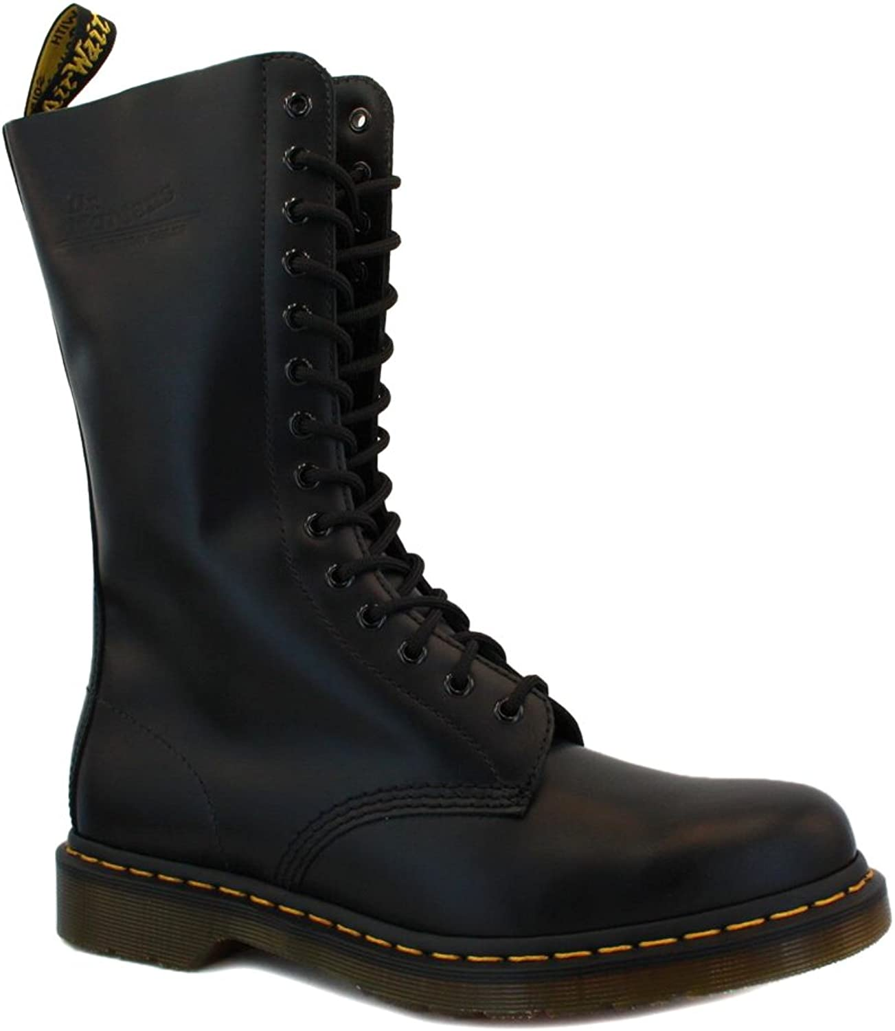 Dr Martens 1914 Unisex Laced Laced Laced Leather Boots svart - 9  inget minimum