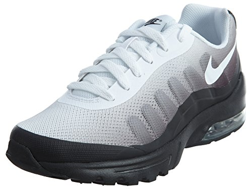 Nike Herren Air Max Invigor Print Laufschuhe, Mehrfarbig (BLACK/WHITE-COOL GREY), 42 EU