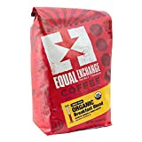 Equal Exchange Organic Whole Bean Coffee, Breakfast Blend, 2 Pound