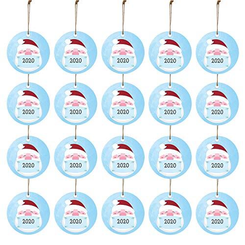 2020 Adornos navideños Regalo para Amigos Decoración navideña Decoración de árboles Hogar y jardín...