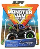 Monster Jam 2020 Spin Master 1:64 Diecast Monster Truck with Wristband: Wreckless Trucks Salvager