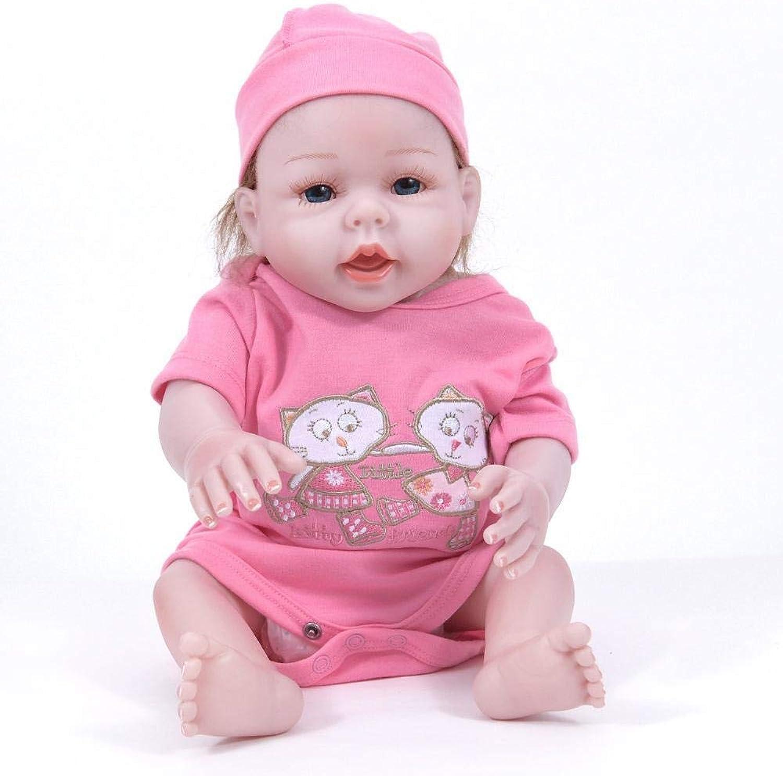 Hongge Reborn Bambola,Realistiche rinascita completo Silicone bambola realistica rinascita bambola giocattoli dei bambini possono fare il borsano 50cm