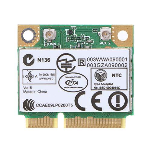 Zkm111 300Mpbs - Scheda Wlan wireless TPCI-E, 300 Mpbs AR9283