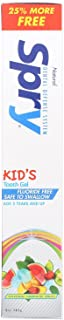 Xlear, Kid's Spry, Tooth Gel, Fluoride-Free, Natural Tropical Fruit, 5 oz (141 g)