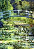Claude Monet - 3D Lenticular Postcard Greeting Card - The Water Lily Pond (1899)