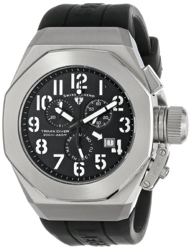Swiss Legend Men's 10542-01-WA Trimix Diver...