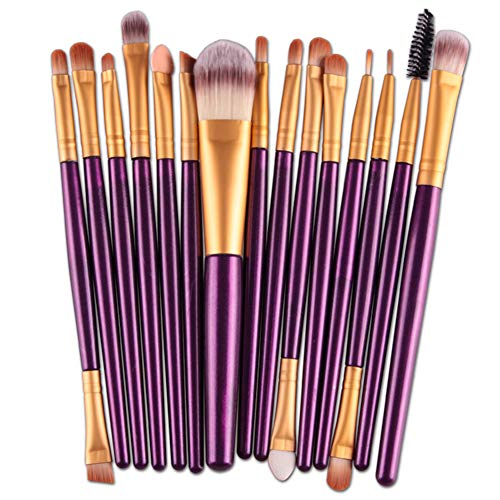 HOUXIAONI Kit De Pinceaux De Maquillage Start The Day Beautifully Kit pour Fard à Paupières Foundation,8-OneSize