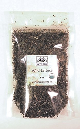 Wild Lettuce (Lactuca virosa), USDA Certified Organic, 1 Oz. Bag