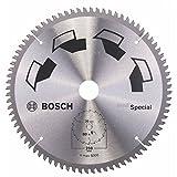 Bosch 2609256896 - Hoja de sierra (circular, 80 dientes) color plata