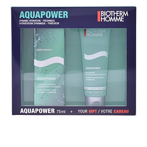 Biotherm Aquapower Duo Kit (gezichtsverzorging, 75 ml + douchegel, 75 ml), 600 g