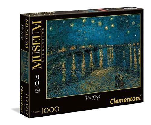 Clementoni- Orsay Van Gogh Museum Collection Puzzle, 1000 Pezzi, 39344