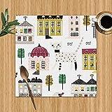 Saudade House Manteles Individuales Lindos Edificios Antiguos Infantiles Parques...