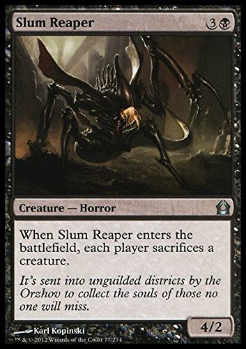 Magic: the Gathering - Slum Reaper (77) - Return to Ravnica