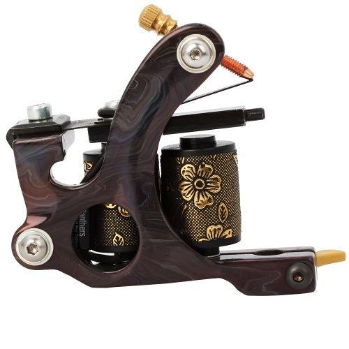 One Tattoo World 8 Wrap Coils Iron Liner Gun Tattoo Machine, OTW-M702