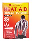 Healthpoint Direct to Skin 2 almohadillas de calor, 100 ml, pack de 48