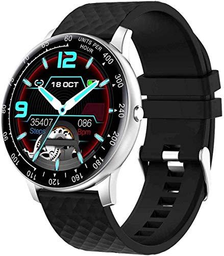 Reloj inteligente con monitor de ritmo cardíaco pulsera de señoras recordatorio periódico IP68 impermeable Multi-sports Mode-4